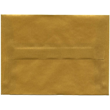 JAM Paper – Enveloppes translucides A6, doré, 250/paquet