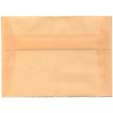 JAM PaperMD – Enveloppes translucides A7, ocre printanier, 250/paquet