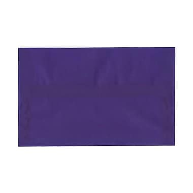 JAM Paper® A10 Invitation Envelopes, 6 x 9.5, Purple Translucent Vellum, 250/Pack (PACV857H)