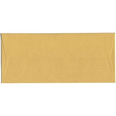 JAM Paper® #10 Business Envelopes, 4 1/8 x 9.5, Stardream Metallic Gold, 500/Pack (SD5360 07H)