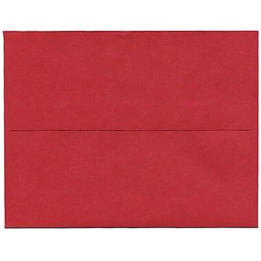JAM PaperMD – Enveloppe Stardream A2 à effet métallique, rouge Jupiter, 250/paquet