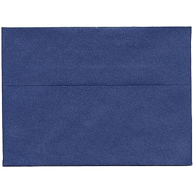 JAM Paper® A7 Invitation Envelopes, 5.25 x 7.25, Stardream Metallic Sapphire Blue, 50/Pack (SD5380 16I)