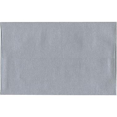 JAM Paper – Enveloppes Stardream A10 à effet métallisé, argenté, 250/paquet