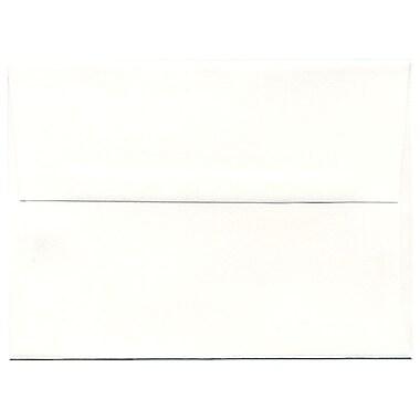 JAM Paper – Enveloppes Strathmore A6, papier vélin blanc éclatant, 250/paquet