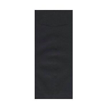 JAM Paper – Enveloppes recyclées nº 11 (4,5 x 10,38 po), lin noir, 500/paquet