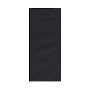 JAM Paper® #14 Policy Envelopes, 5 x 11.5, Black Linen Recycled, 500/Pack (V01221H)