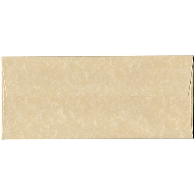 JAM Paper® #10 Business Envelopes, 4 1/8 x 9.5, Brown Parchment Recycled, 500/Pack (V01722H)