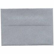 JAM Paper A1 Stardream Metallic Envelope, Silver, 50/Pack