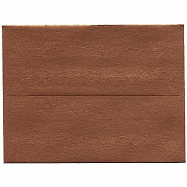 JAM Paper® A2 Invitation Envelopes, 4.38 x 5.75, Stardream Metallic Copper, 250/Pack (V018251H)