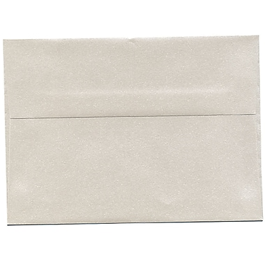 JAM PaperMD – Enveloppes Stardream A7 à effet métallisé, quartz, 250/paquet