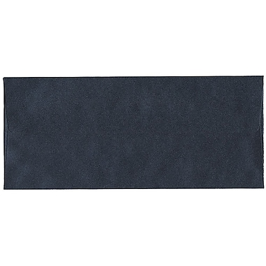 JAM Paper® #10 Business Envelopes, 4 1/8 x 9.5, Stardream Metallic Anthracite Black, 500/Pack (V018283H)