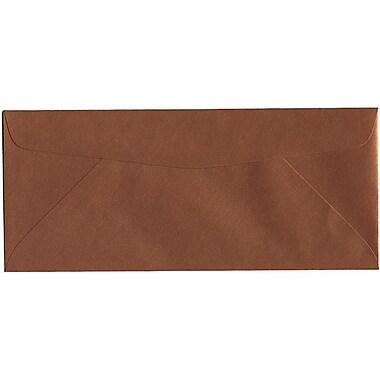 JAM Paper – Enveloppe Stardream nº 10 (4,13 po x 9,5 po) à effet métallisé, cuivre, 500/bte