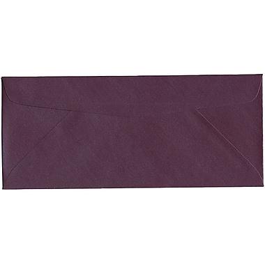 JAM Paper® #10 Business Envelopes, 4 1/8 x 9.5, Stardream Metallic Ruby Purple, 500/Pack (V018288H)