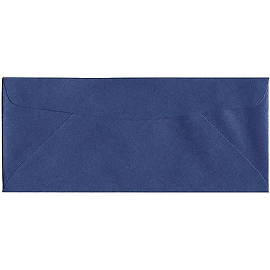 JAM Paper® #10 Business Envelopes, 4 1/8 x 9.5, Stardream Metallic Sapphire Blue, 500/Pack (V018289H)