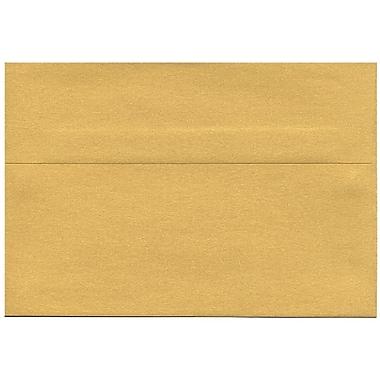 JAM PaperMD – Enveloppe Stardream A8 à effet métallisé, doré, 50/paquet