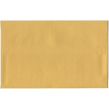 JAM Paper® A10 Invitation Envelopes, 6 x 9.5, Stardream Metallic Gold, 50/Pack (V018299I)