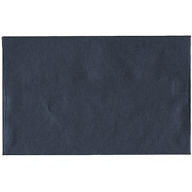 JAM Paper® A10 Invitation Envelopes, 6 x 9.5, Stardream Metallic Anthracite Black, 50/Pack (V018300I)