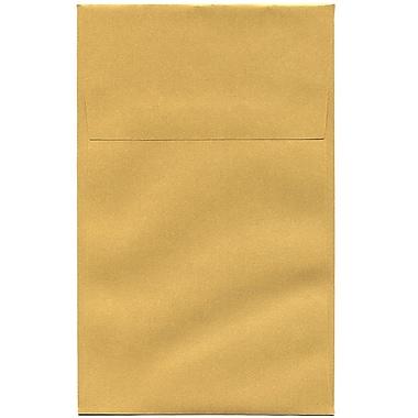 JAM Paper – Enveloppes commerciales Stardream A10 à effet métallisé, doré, 50/pqt