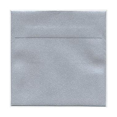 JAM Paper® 6 x 6 Square Envelopes, Stardream Metallic Silver, 250/Pack (V018307H)
