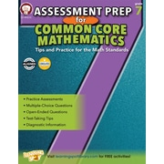 Mark Twain Assessment Prep for Common Core Mathematics Resource Book for Grade 7