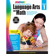 Spectrum Language Arts and Math Workbook for Grade 1
