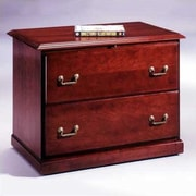 High Point Furniture Legacy 2-Drawer Executive  File; Wood Veneer Top Without Molding