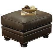 Abbyson Living Leather Ridgecrest Ottoman