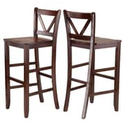 Winsome Victor 30'' Bar Stool (Set of 2)