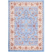 Well Woven Miami Bijar Classic Blue Area Rug; Runner 1'8'' x 7'2''