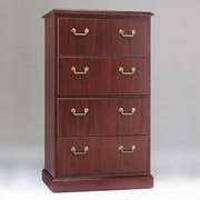 High Point Furniture Bedford 4-Drawer  File; Mahogany