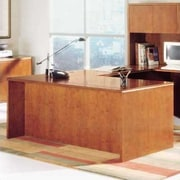 High Point Furniture Forte Executive Desk; Honey Cherry