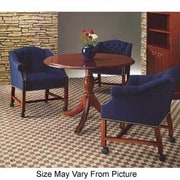 High Point Furniture Bedford Circular Conference Table; 4' L Diameter