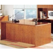 High Point Furniture Forte Executive Desk with Shell; Honey Cherry