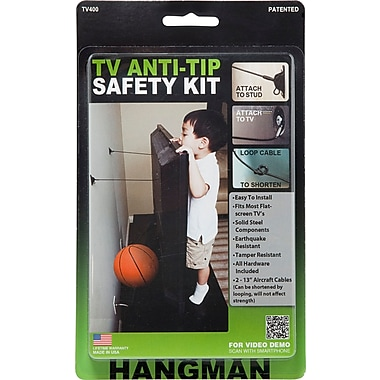 Hangman TV Anti-Tip Safety Kit (TV400)