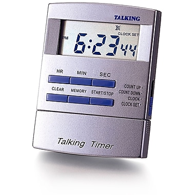 Ultmost Digital Talking Timer Clock with Memory (EL-8845)