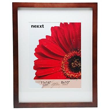 Nexxt Gallery – Cadre en bois pour photos de 8 x 10 po, 11 x 14 po, java, paquet de 6