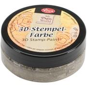 Viva Decor 3D Stamp Paint, Silver Gold Metallic