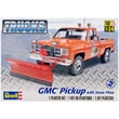 Revell Pickup With Snow Plow Plastic Model Kit 3.37 x 3.75 inch