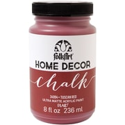 FolkArt Home Decor Chalk Paint, Tuscan Red