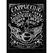 Melissa Frances Chalkboard Canvas Print 15.75 x 12 inch , Cappuccino