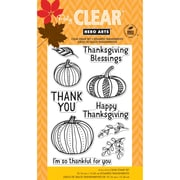 Dare 2B Artzy Clear Stamp, Thankful For You