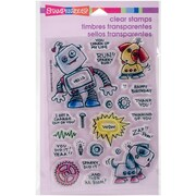 Stampendous Clear Stamps, Screwloose N Sparky