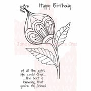 Woodware Craft Collection Stamps Sheet, Bold Bloom