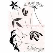 Woodware Craft Collection Clear Stamp, Plant A Meadow - Mini