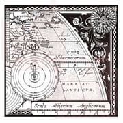 Woodware Craft Collection Clear Stamps 3.5 x 3.5 inch, Sheet-Map & Compass