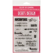 Uchis Design Stamp Set Sheet, Memories