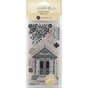 Hampton Art Artisan Style Cling Stamps, Stamp # 3