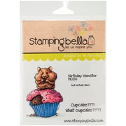 Stamping Bella Cling Rubber Stamps, Birthday Hamster