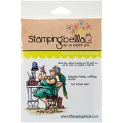 Stamping Bella Cling Rubber Stamps, Blanche Fussy Cutting