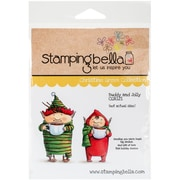 Stamping Bella Cling Rubber Stamps, Buddy & Jolly